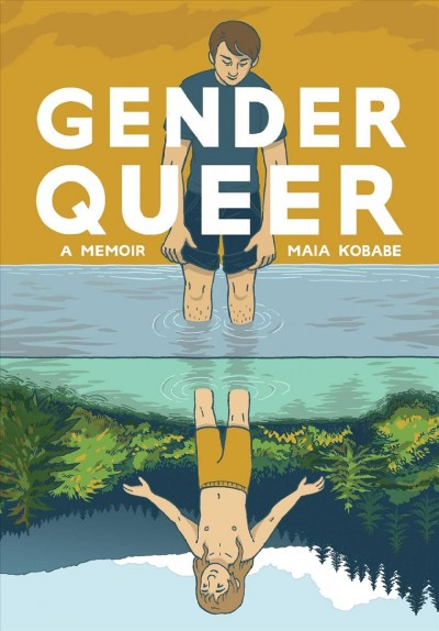 Book Cover - Gender Queer