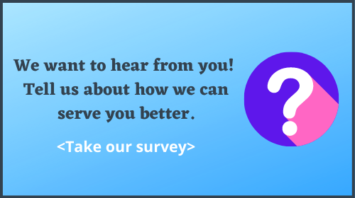 Click to take our survey!