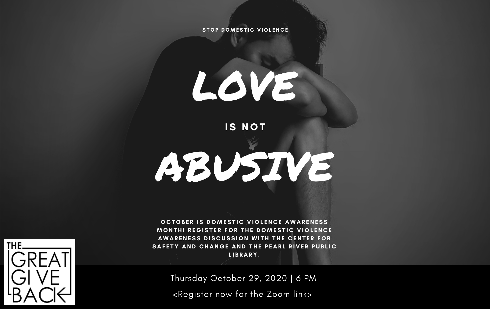 Click to register for the Domestic Violence discussion.