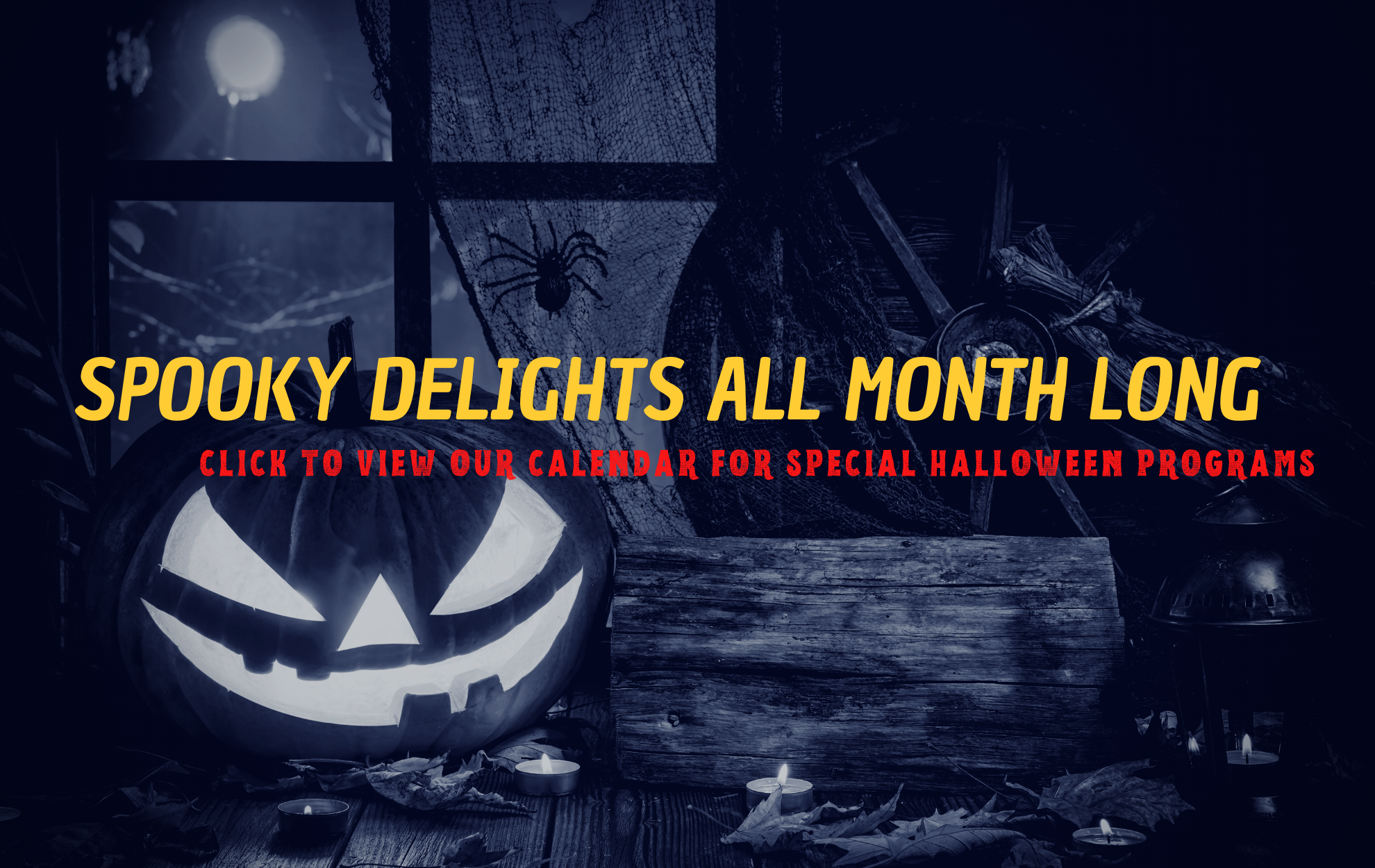Halloween 2020: Click to view special programs