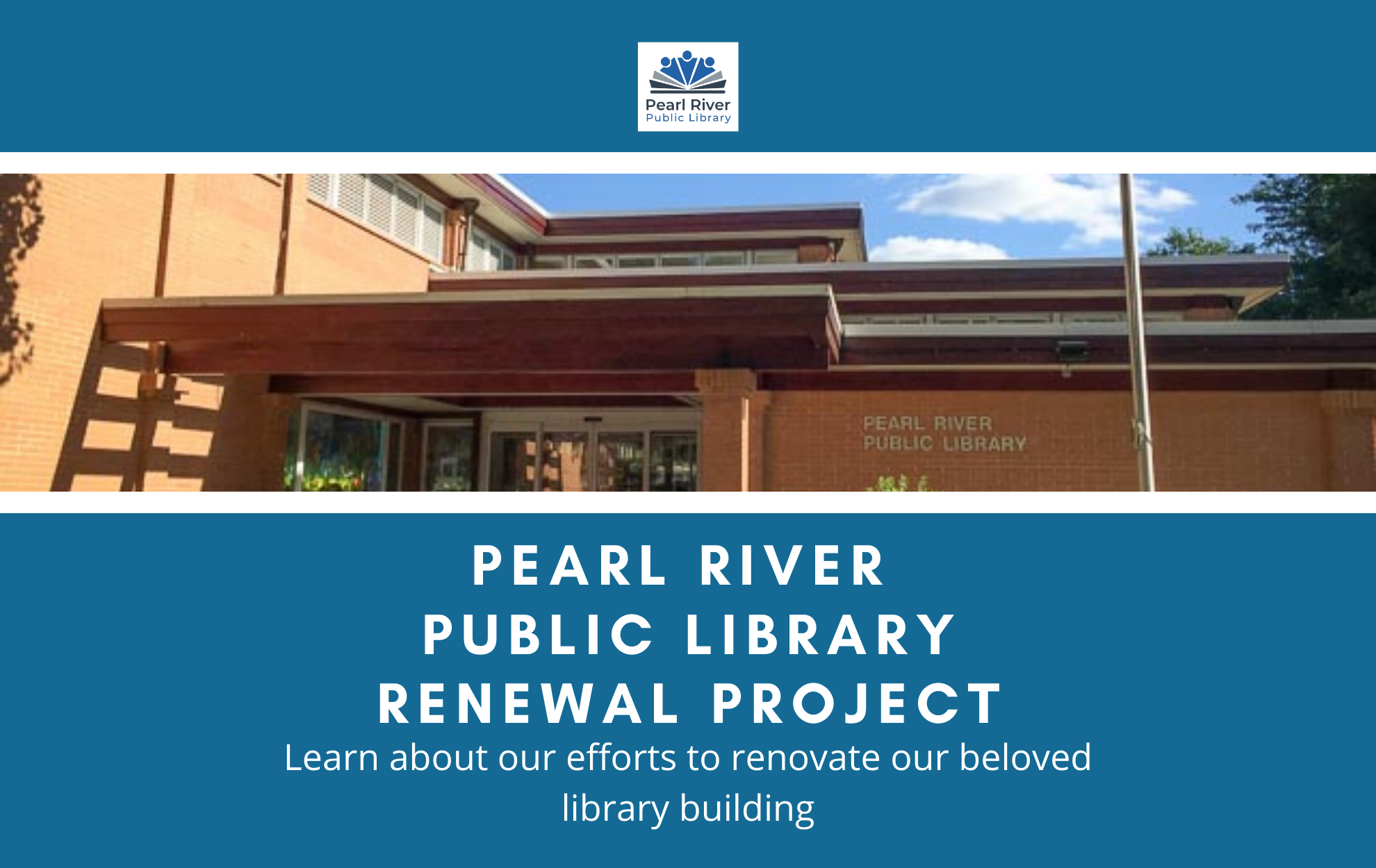 ​​​​​​Click to learn about our library renewal project.