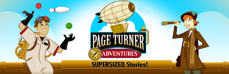 Page Turner Adventures Logo