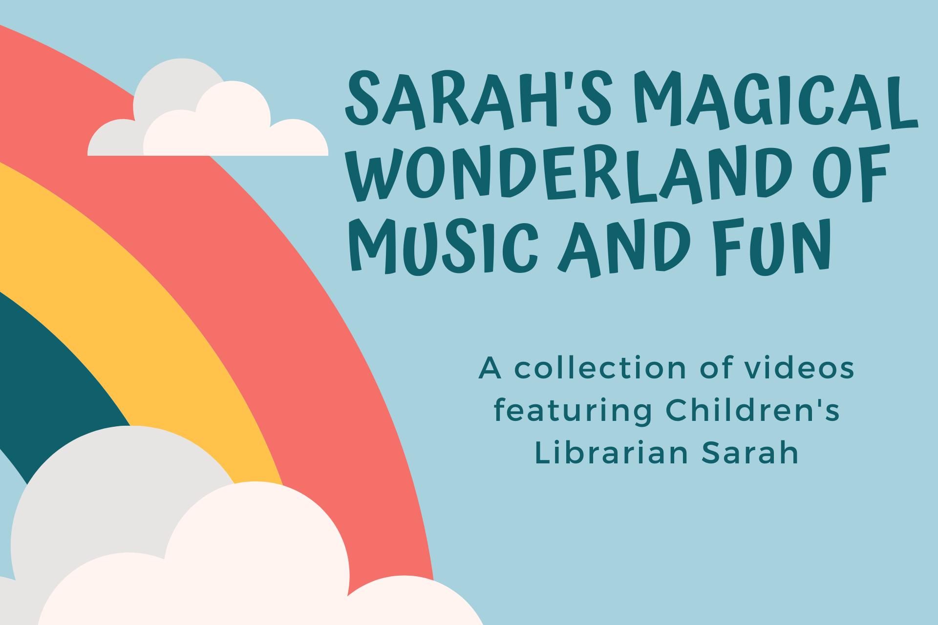 Click for Sarah's Wonderland for Kids