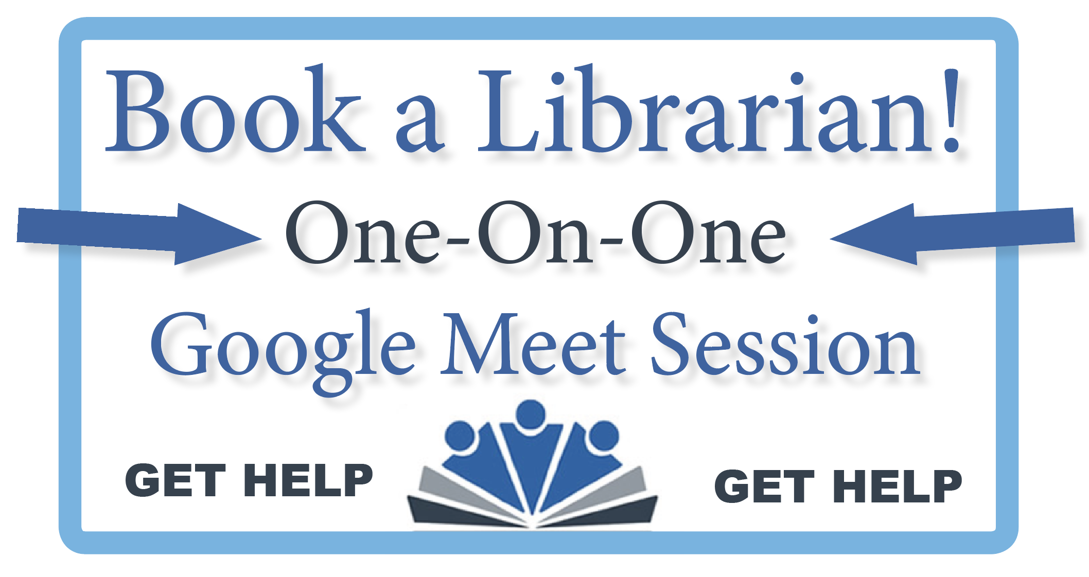 Click to book a reference librarian
