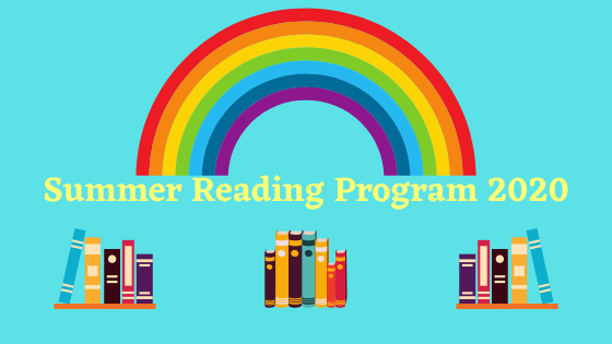 Summer Reading 2020. Links to program page.
