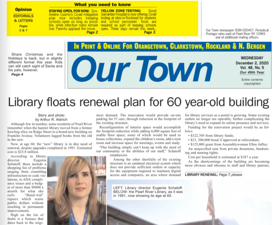 Click to download Our Town article