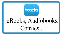 Hoopla eBooks, AudioBooks, Comics and More...