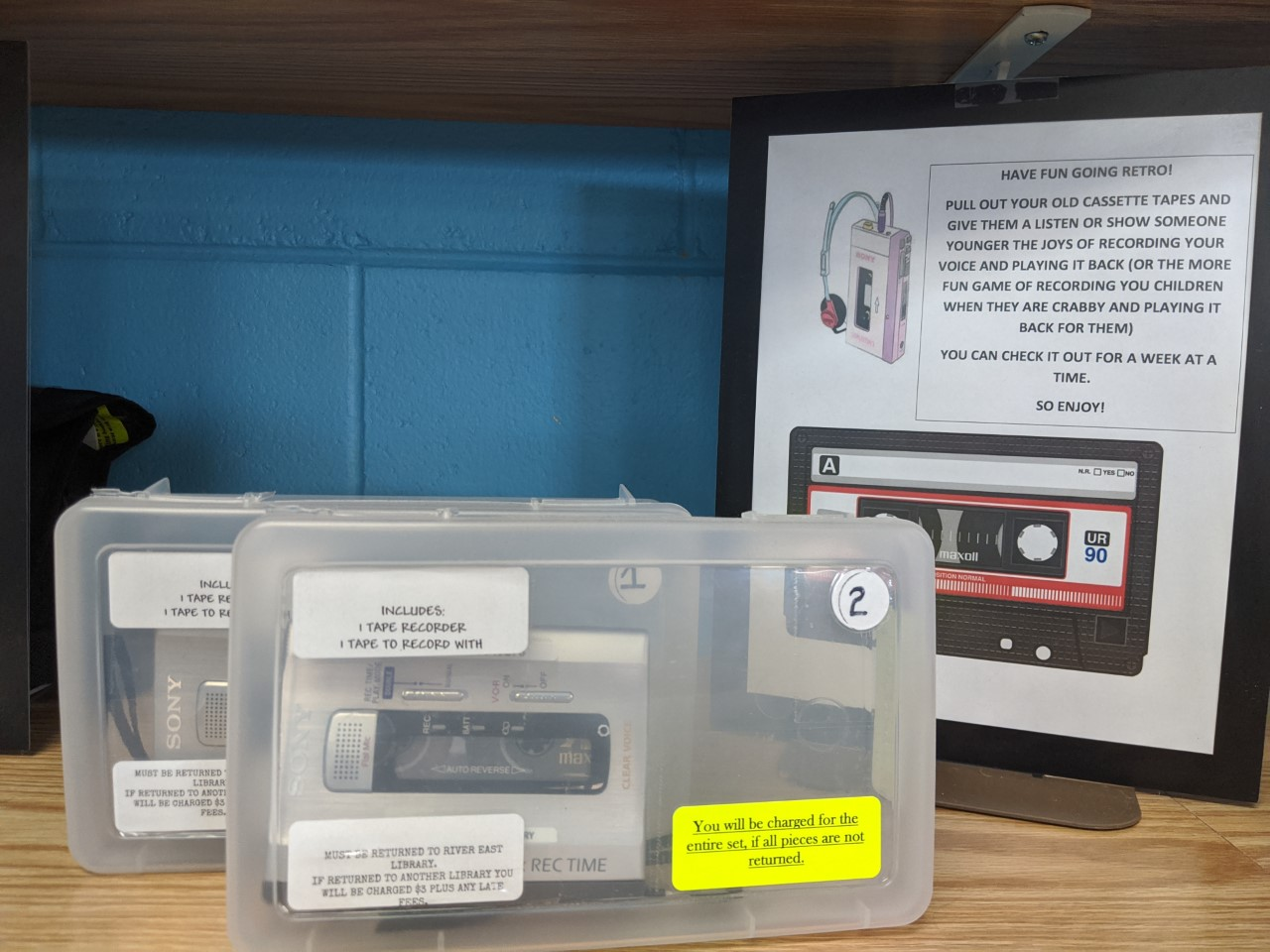 Image of a Cassette Tape Recorder