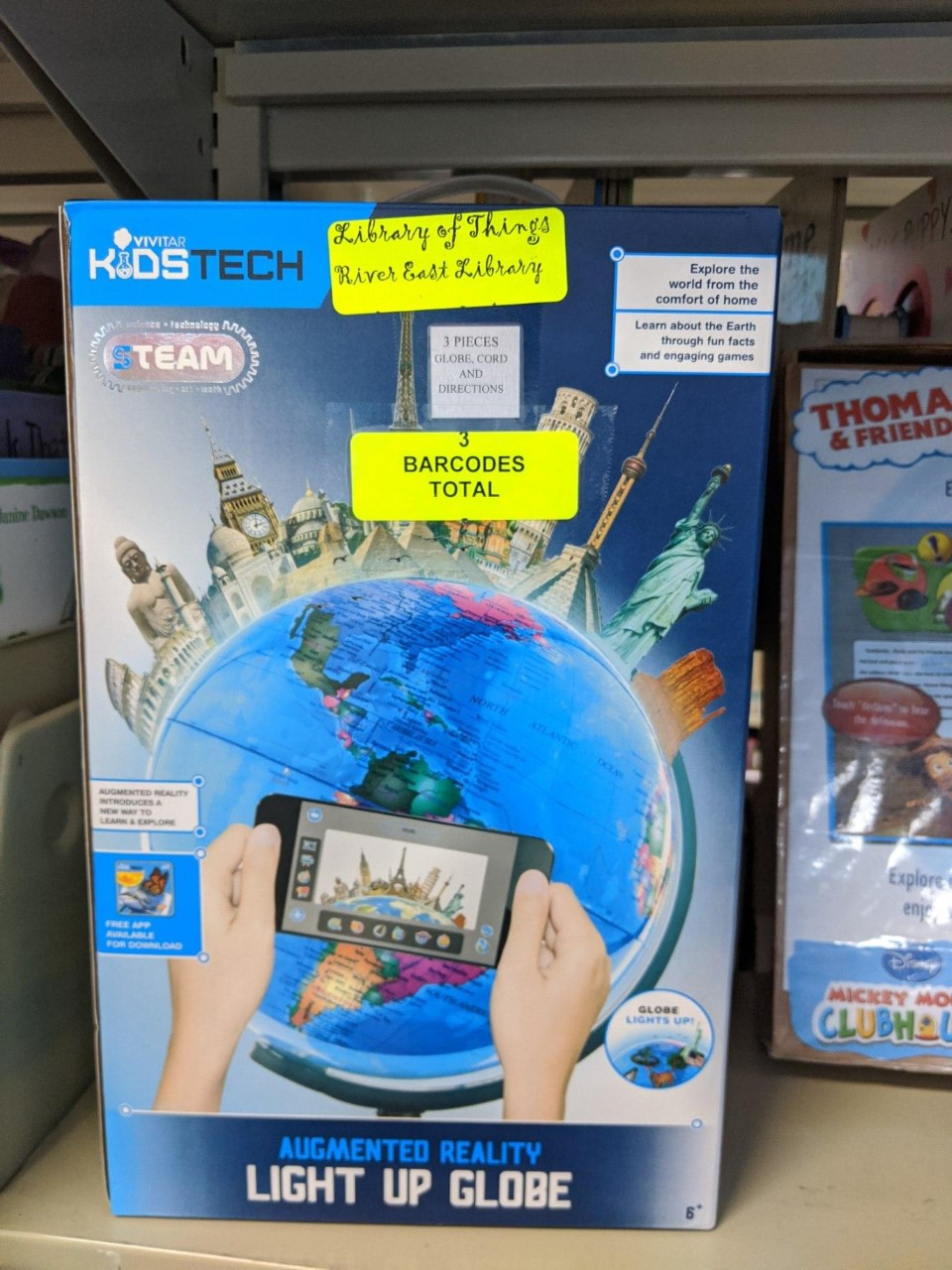Image of an educational Globe Toy