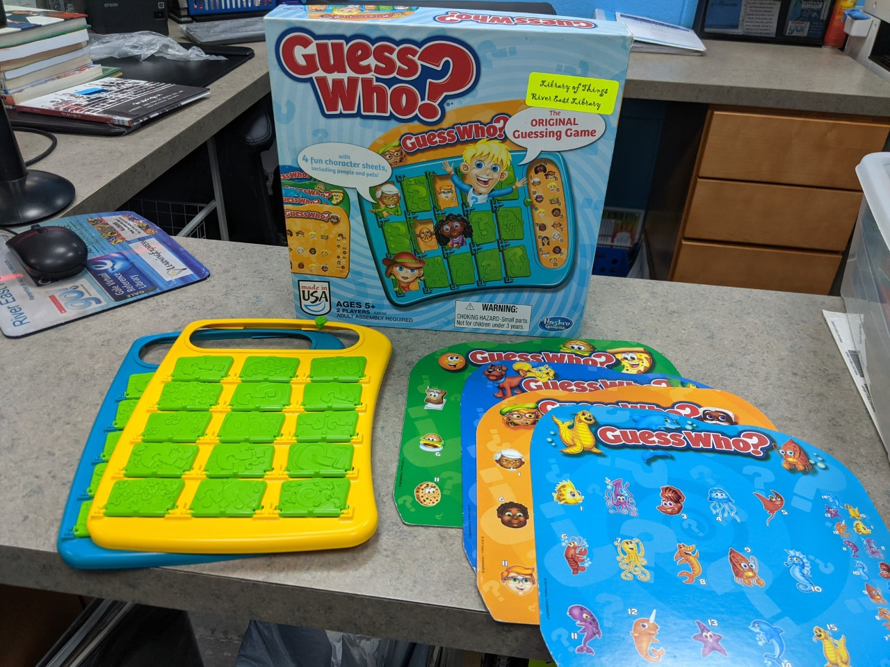 Image of Guess Who Game
