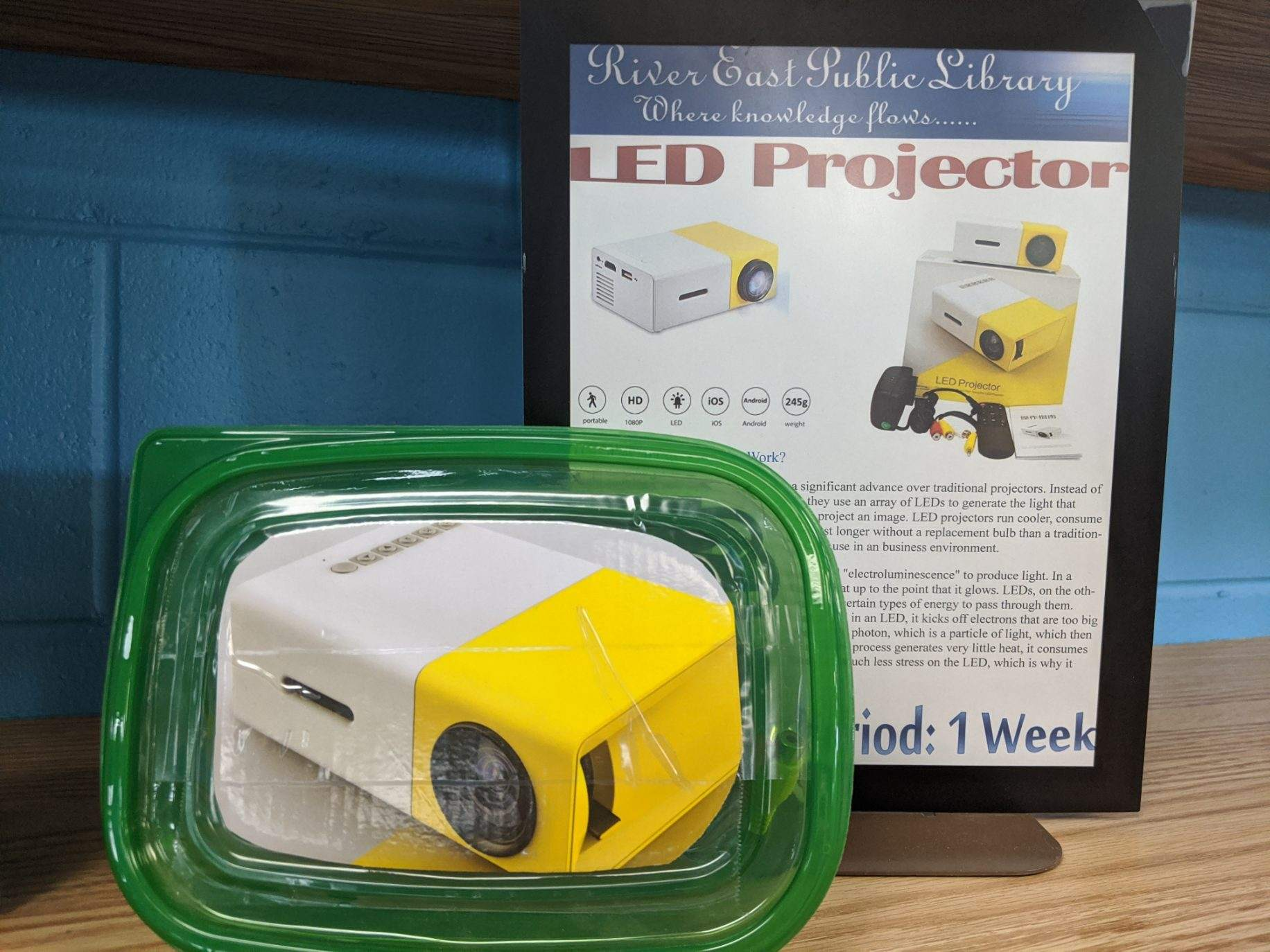 Image of an LED Projector
