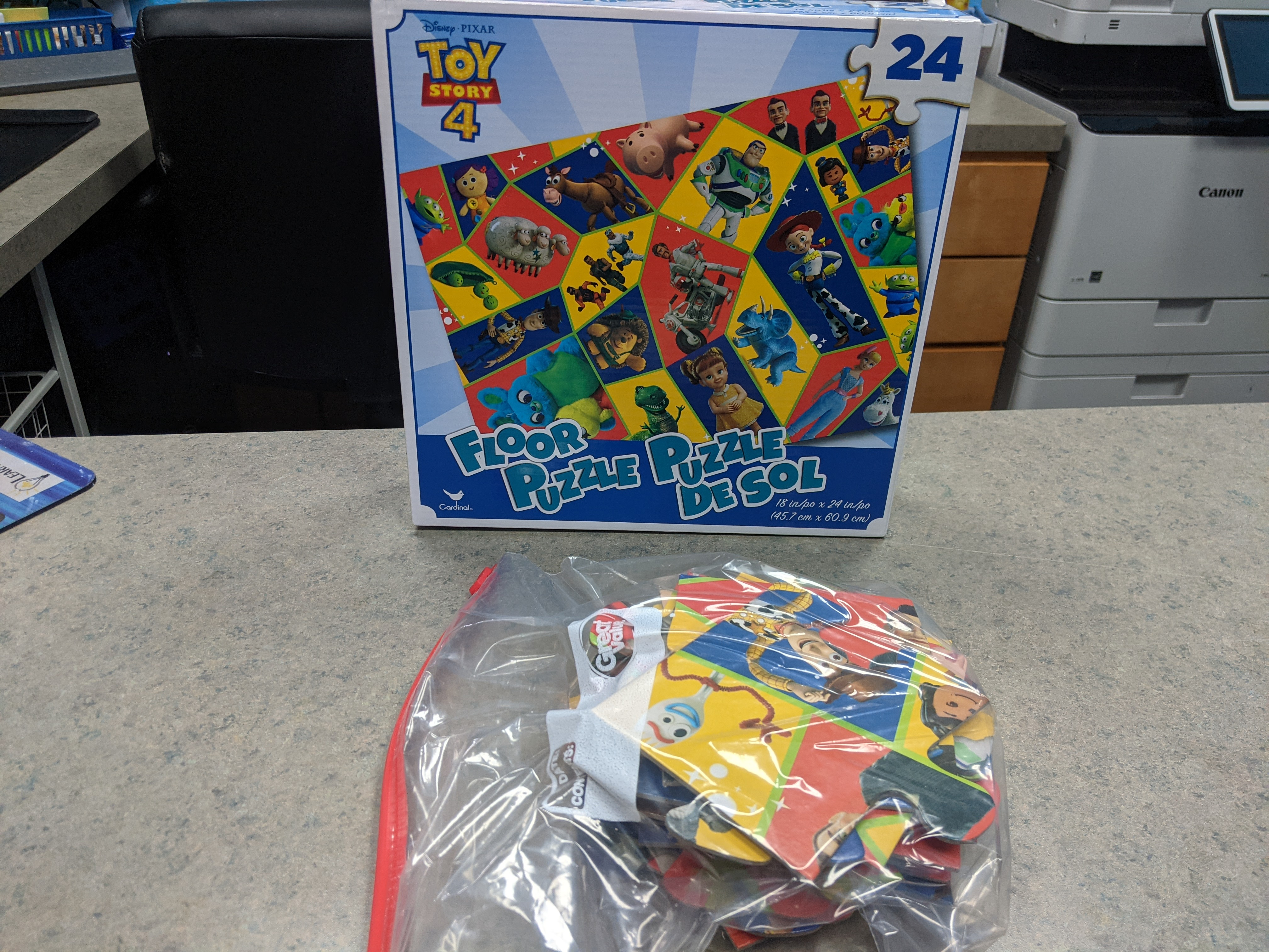 Image of a Toy Story Jigsaw Puzzle