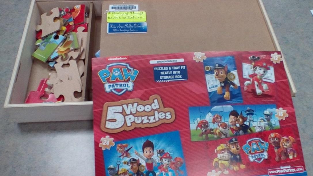 Image of Paw Patrol Puzzles