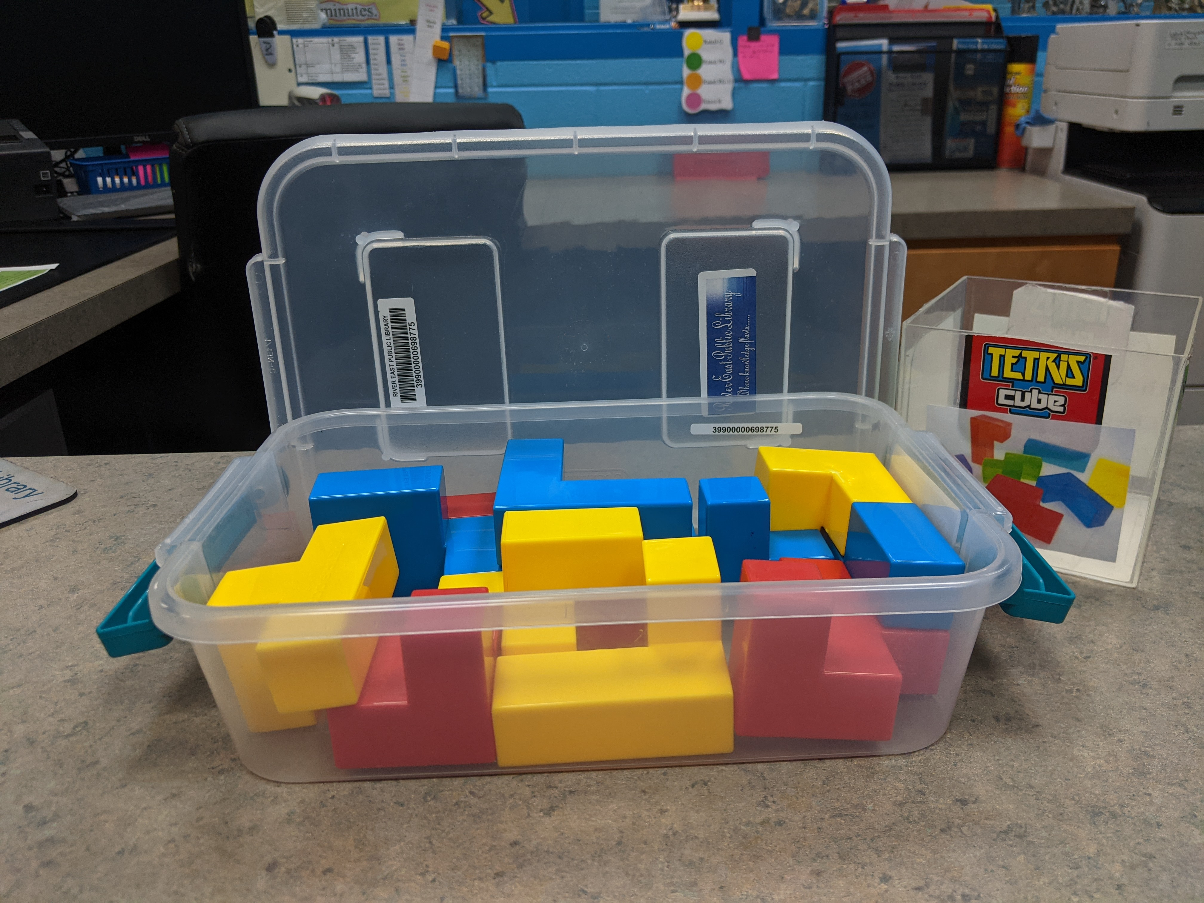 Image of Tetris Game Cube