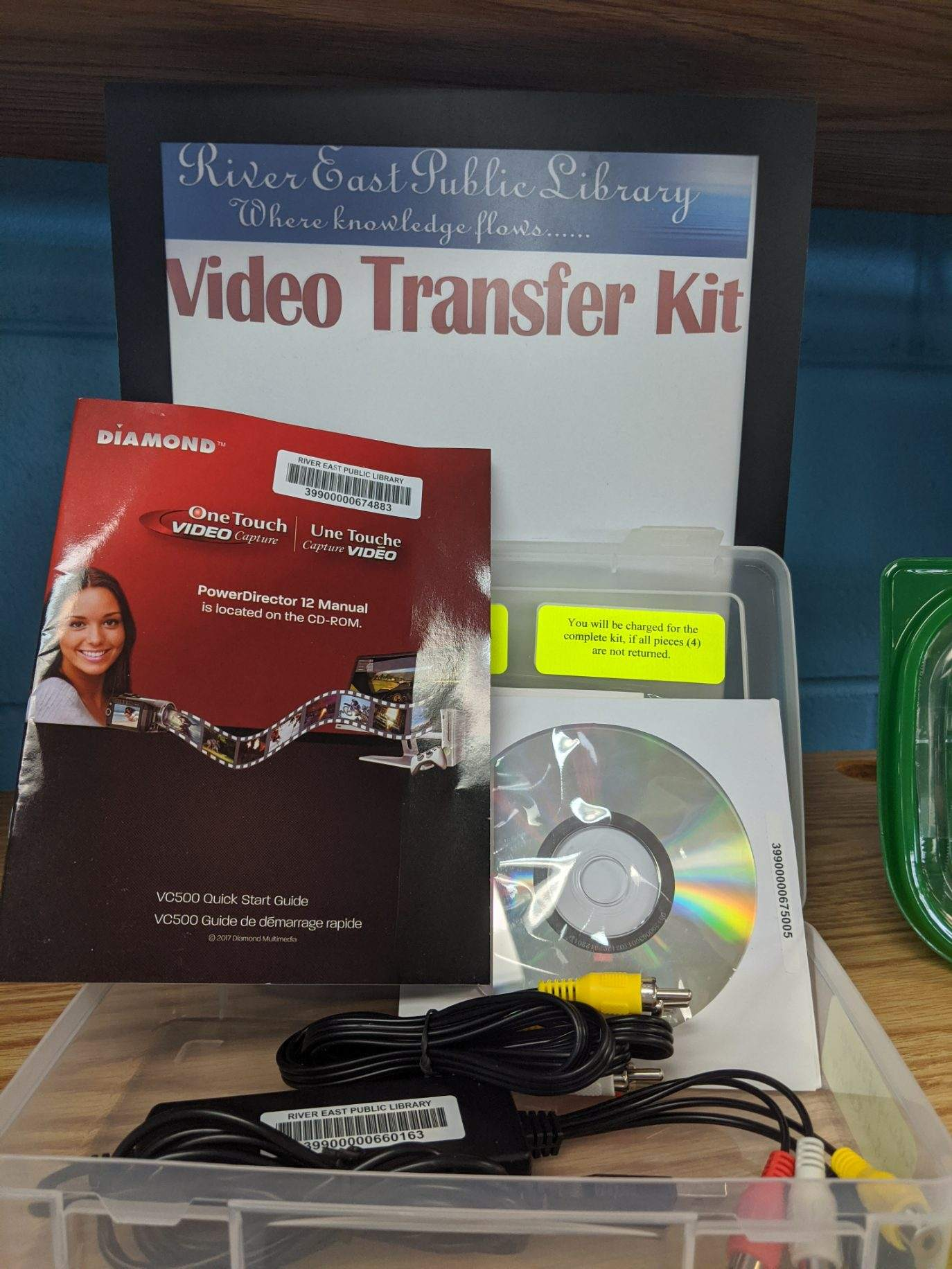 Image of a Video Transfer Machine