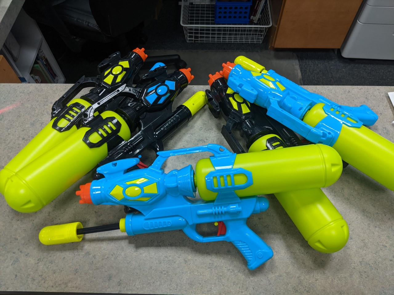 Image of a water shooters