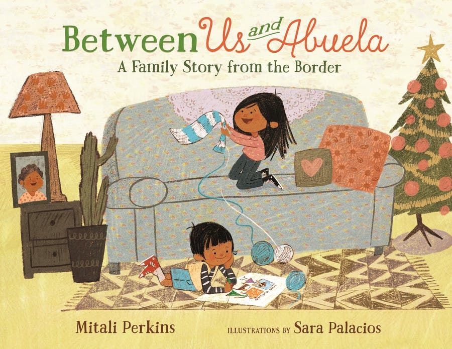 Cover for Between Us and Abuela
