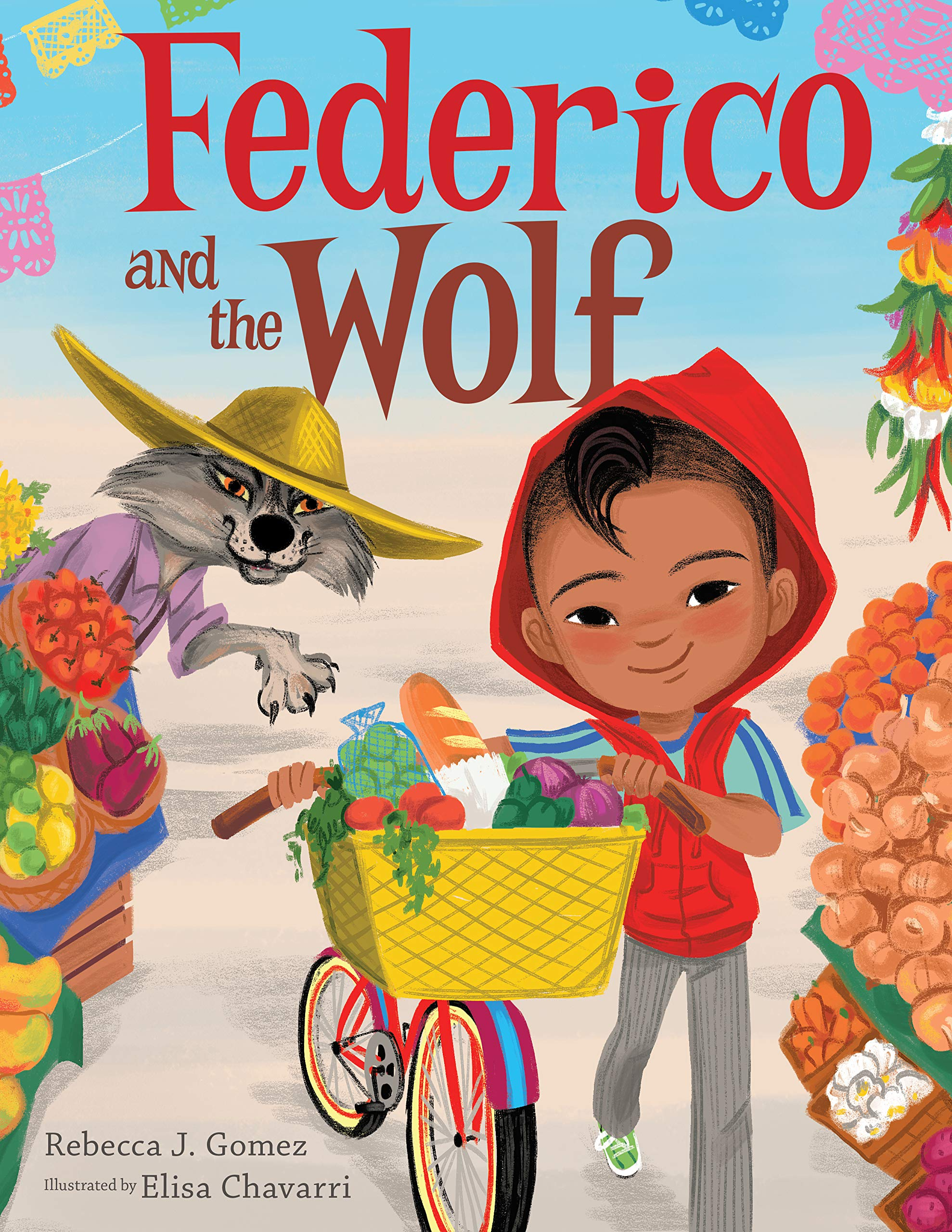 Cover for Federico and the Wolf