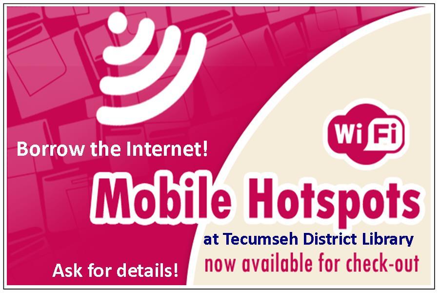 mobile hotspot flyer
