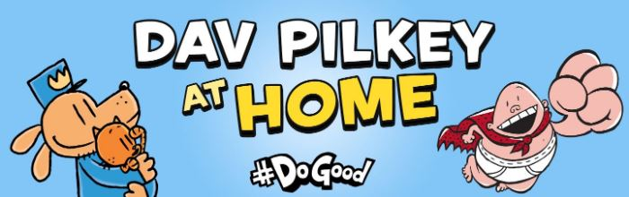 Dav Pilkey at Home Image