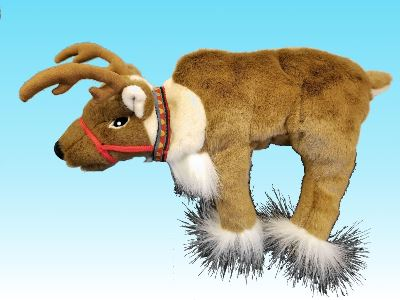 Ruby Reindeer Puppet