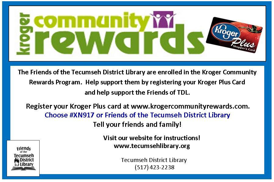 Kroger Community Rewards advertisement