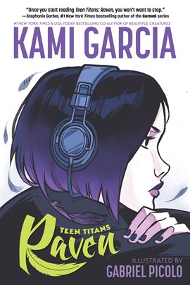 Cover of the graphic novel Teen Titans: Raven