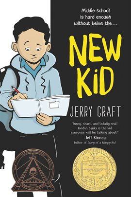 Cover of the graphic novel New Kid by Jerry Craft