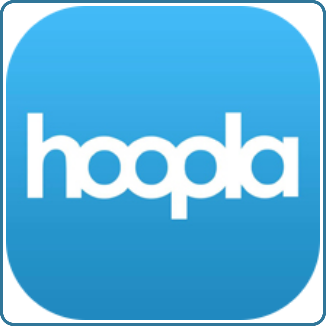 Click here to access Hoopla.