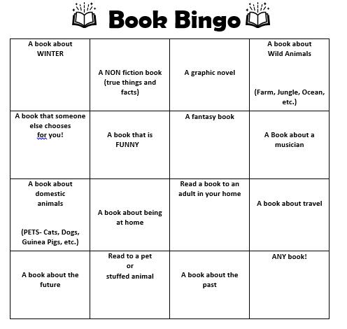 book bingo picture
