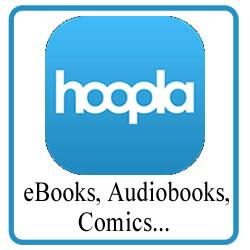 Hoopla - eBooks, Audiobooks, Comics...