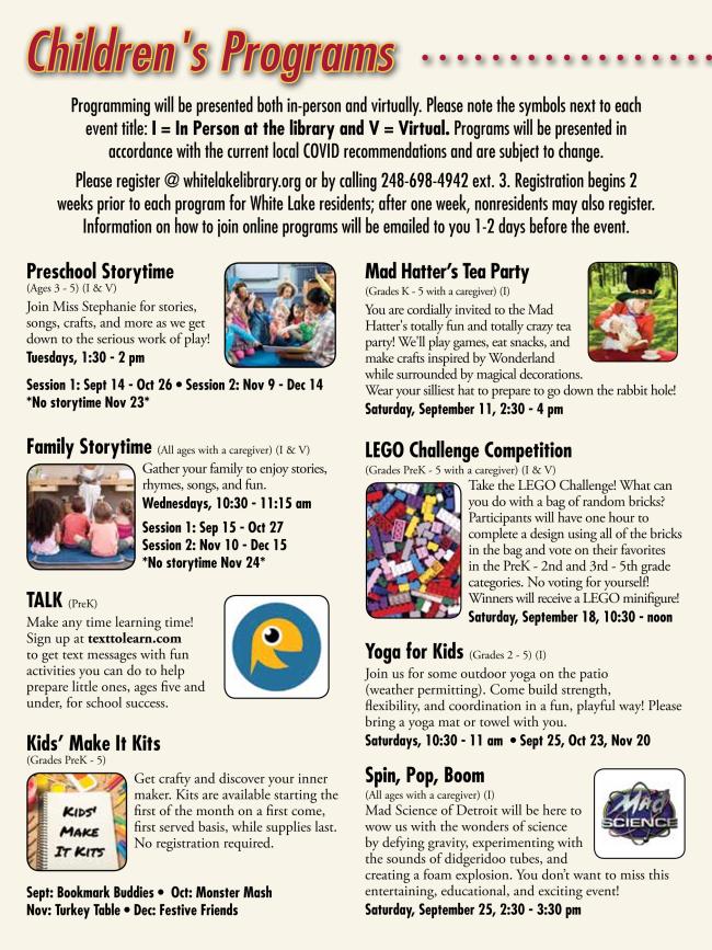 Image of Children's Newsletter