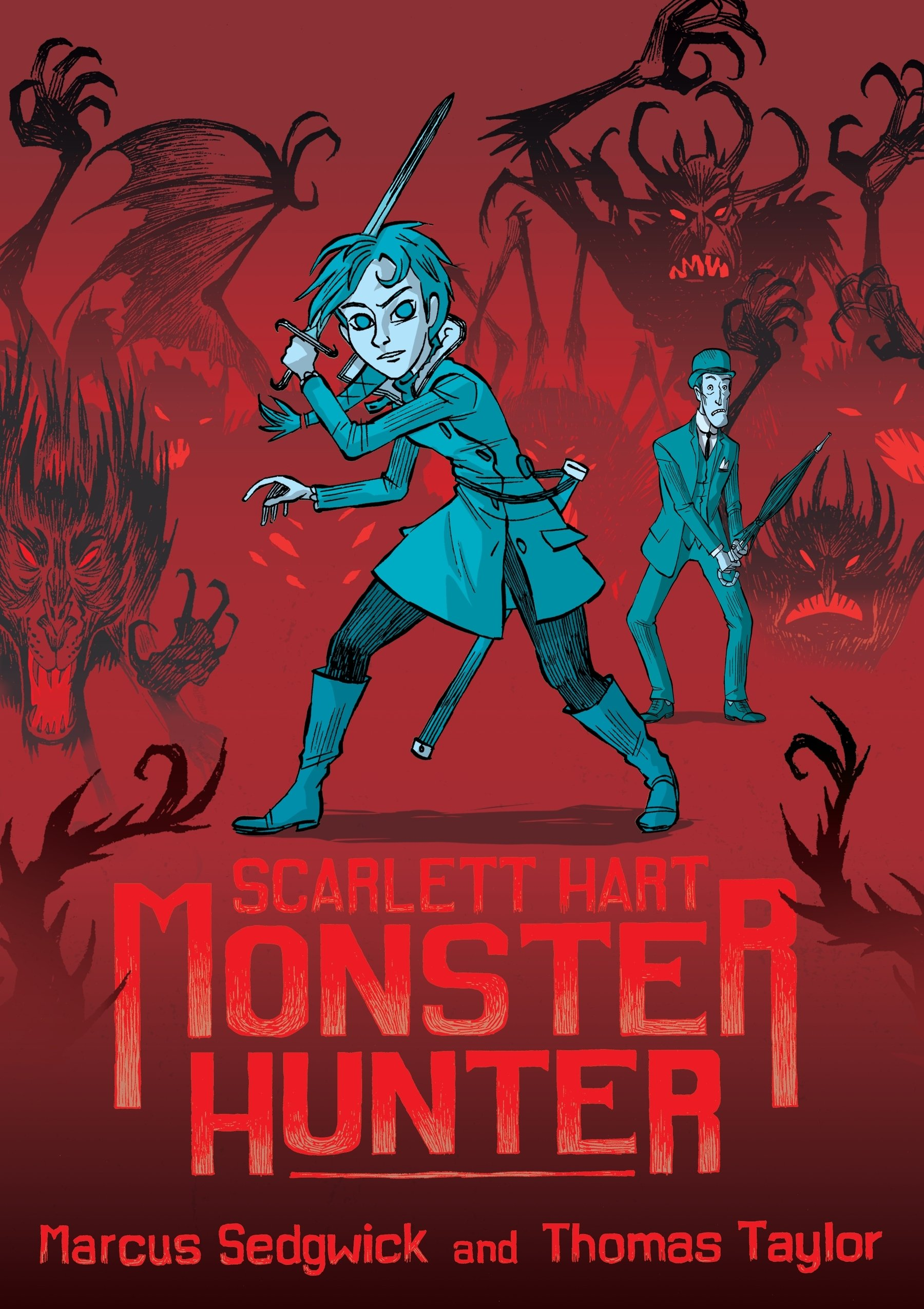 Scarlett Hart: Monster Hunter book cover