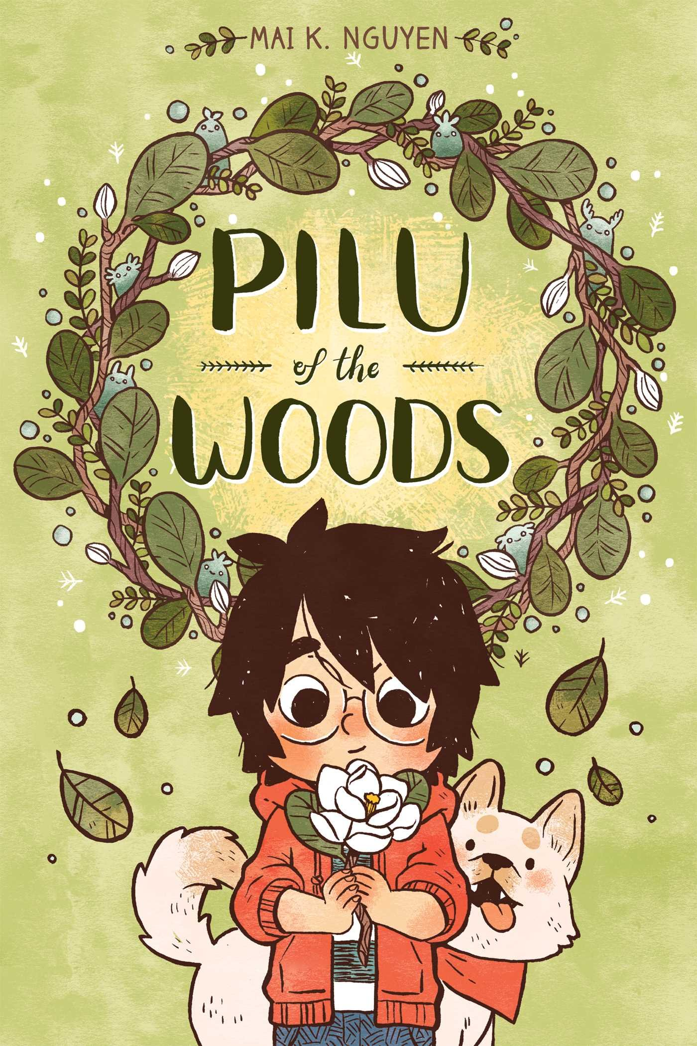 Plu of the Woods book cover